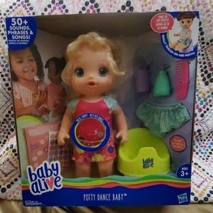 New in Box baby alive potty dance spanis/ english